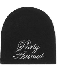 Alexander Wang - Party Animal Wool And Cashmere-blend Beanie - Lyst
