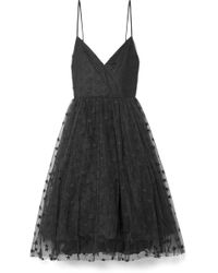J.Crew | Embroidered Tulle Midi Dress | Lyst