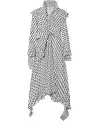 Vetements - Ruffled Printed Jersey Dress - Lyst