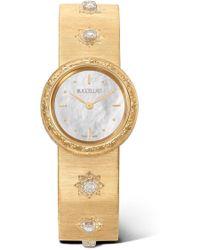 Buccellati - Macri 24mm 18-karat Gold And Diamond Watch - Lyst