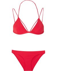 Dion Lee | Fine Line Triangle Bikini | Lyst