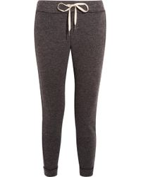 Splendid - Bowery Textured-knit Track Pants - Lyst