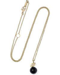 Ippolita - Nova 18-karat Gold, Onyx And Diamond Necklace - Lyst