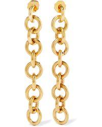 Laura Lombardi - Fede Gold-tone Earrings - Lyst