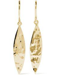Jennifer Meyer - 18-karat Gold Earrings - Lyst
