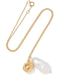 Alighieri - The Remedy Chapter Iii Gold-plated Pearl Necklace - Lyst