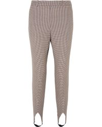 Givenchy - Mid-rise Wool Stirrup Trousers - Lyst