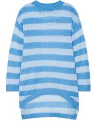 Georgia Alice - Delphine Oversized Striped Open-knit Sweater - Lyst