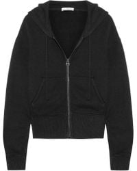 James Perse - Cotton-blend Jersey Hooded Top - Lyst