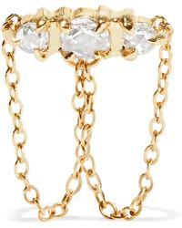 Catbird - Sleeping Beauty 14-karat Gold Diamond Earring - Lyst