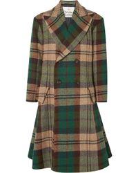 Vivienne Westwood - Oversized Double-breasted Wool-tweed Coat - Lyst