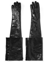 Ann Demeulemeester - Leather Gloves - Lyst