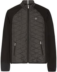 Ariat - Cloud 9 Quilted Shell And Stretch-jersey Jacket - Lyst