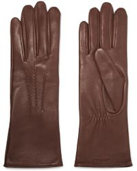 Agnelle - Grace Leather Gloves - Lyst
