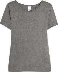 CALVIN KLEIN 205W39NYC - Liquid Luxe Jersey Pyjama Top - Lyst