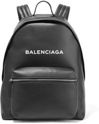 Balenciaga - Everyday Printed Textured-leather Backpack - Lyst
