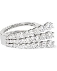 Melissa Kaye | Aria 18-karat White Gold Diamond Ring | Lyst