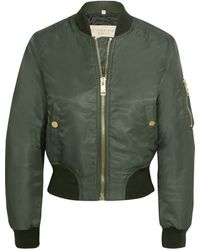 Burberry Brit - Shell Bomber Jacket - Lyst