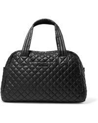 MZ Wallace - Jimmy Quilted Shell Tote - Lyst