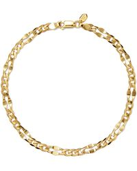 Maria Black - Dean Gold-plated Anklet - Lyst