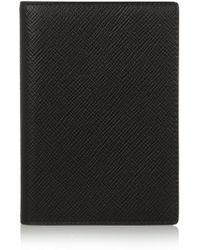 Smythson - Textured-leather Passport Cover - Lyst