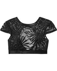 Myla - Soho Cutout Stretch-lace Bra - Lyst