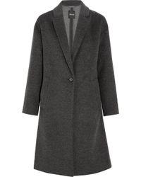 Madewell - Monsieur Wool-blend Felt Coat - Lyst