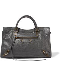 Balenciaga - Classic City Textured-leather Tote - Lyst