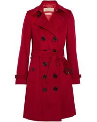 Burberry | The Sandringham Cashmere Trench Coat | Lyst