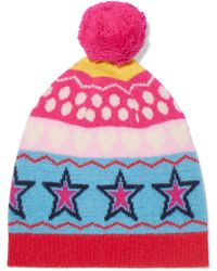 Chinti & Parker - Ski Party Wool-jacquard Beanie - Lyst