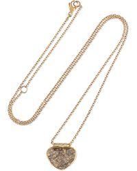 Brooke Gregson - 18-karat Gold Diamond Necklace - Lyst