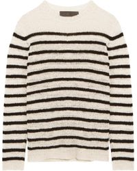 The Elder Statesman - Pull En Cachemire À Rayures Picasso - Lyst