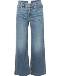 Simon Miller - W006 Musa Mid-rise Wide-leg Jeans - Lyst