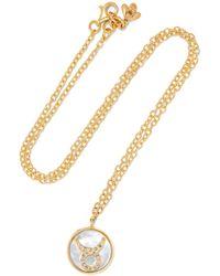 Carolina Bucci - Taurus Lucky 18-karat Rose Gold Multi-stone Necklace - Lyst