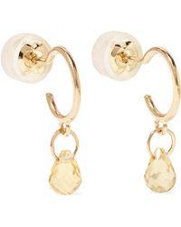 Melissa Joy Manning - 14-karat Gold Citrine Earrings - Lyst