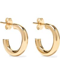 Loren Stewart - Chubbie Huggies 10-karat Gold Hoop Earrings - Lyst
