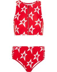Perfect Moment | Ruched Printed Bikini | Lyst