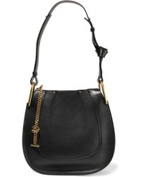 ad204aeac4a8 Chloé - Hayley Small Leather Shoulder Bag - Lyst