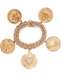 Fred Leighton - 1950s 14-karat Gold Multi-stone Bracelet - Lyst