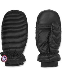 Canada Goose - Quilted Shell Down Mittens - Lyst