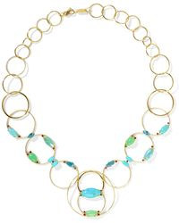 Ippolita - Prisma 18-karat Gold Multi-stone Necklace - Lyst