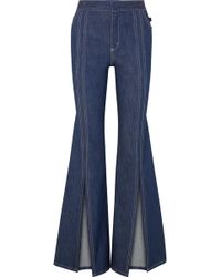 Chloé - High-rise Flared Jeans - Lyst