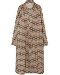 Vetements - Printed Coated-shell Raincoat - Lyst