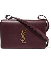 Saint Laurent Monogramme Dylan Leather Shoulder Bag