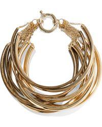 Rosantica - Yucatan Gold-tone Choker - Lyst