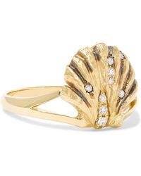 Venyx - Lady V 18-karat Gold Diamond Ring - Lyst
