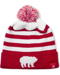 Perfect Moment - Pompom-embellished Merino Wool-blend Beanie - Lyst