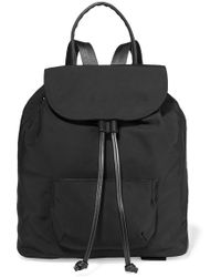 Elizabeth and James - Langley Leather-trimmed Shell Backpack - Lyst