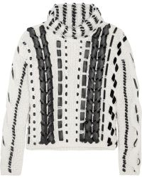 Altuzarra | Caravan Wool And Mohair-blend Knitted Sweater | Lyst