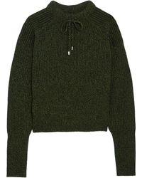 Topshop Unique - Feldon Wool And Cashmere-blend Sweater - Lyst